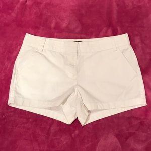 JCew White Chino Shorts Sz:6
